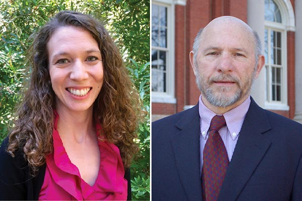 Drs. Brittney Goodrich and Henry Kinnucan