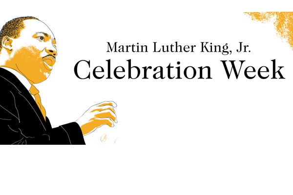 Martin Luther King Jr. Celebration Week logo