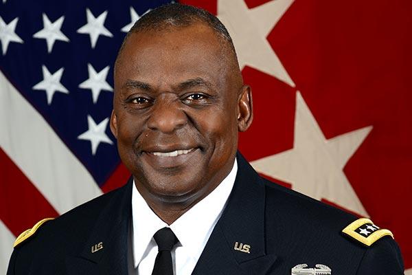 Retired Army Gen. Lloyd Austin